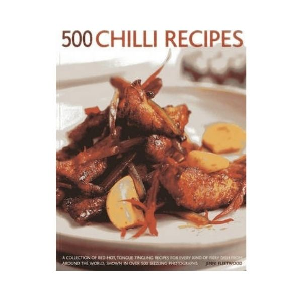 500 Chilli Recipes - Jenni Fleetwood