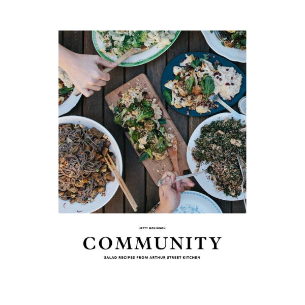 Community:  Salad recipes from the Arthur Street Kitchen