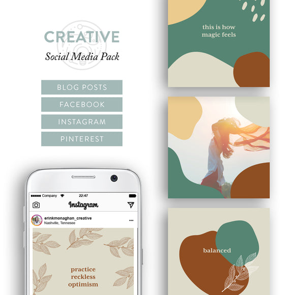 Creative Archetype Social Media Brand Kit