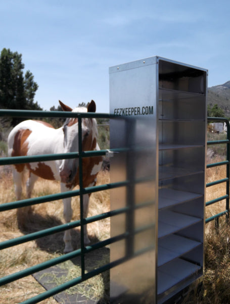 Hay feeders for horses