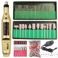 ELECTRIC PERSONAL MANICURE AND PEDICURE KIT