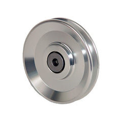 ALUMINUM WHEEL 9cm / 9mm for wire rope winch