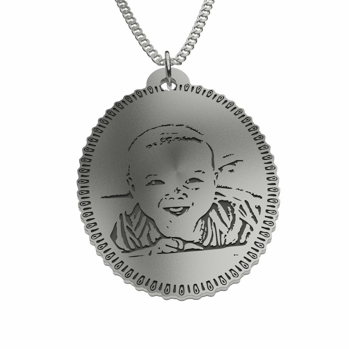 Baby Photo Pendant - Maraya's Marketplace