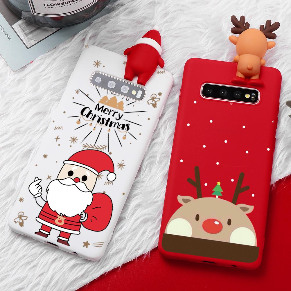 Christmas Silicone Phone Case For Samsung Galaxy and Note - Buy Two, Get One FREE - Maraya's Marketplace