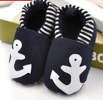 Cute Baby Shoes - Anchor - Maraya's Marketplace