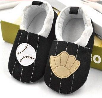 Cute Baby Shoes - Baseball - Maraya's Marketplace