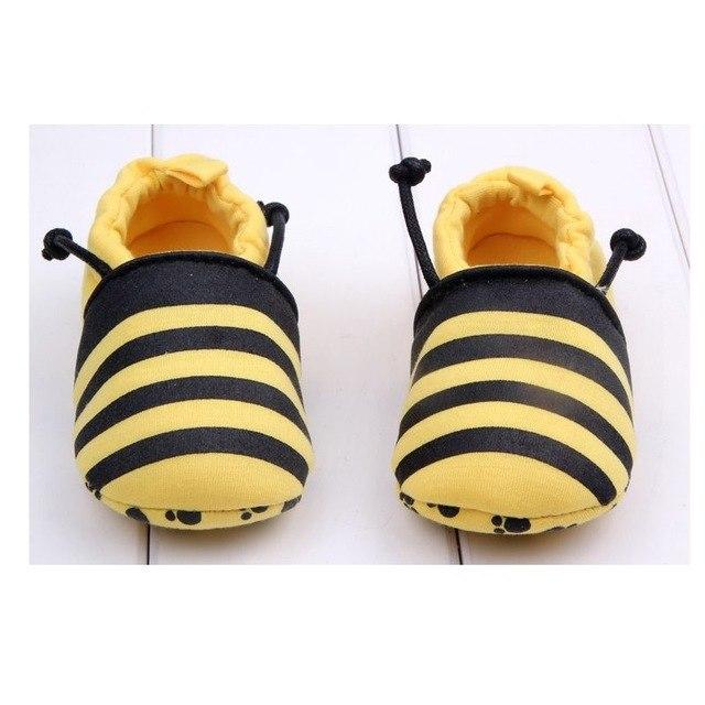 Cute Baby Shoes - Bee - Maraya's Marketplace