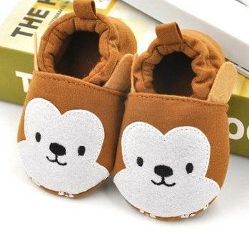Cute Baby Shoes - Chipmunk - Maraya's Marketplace