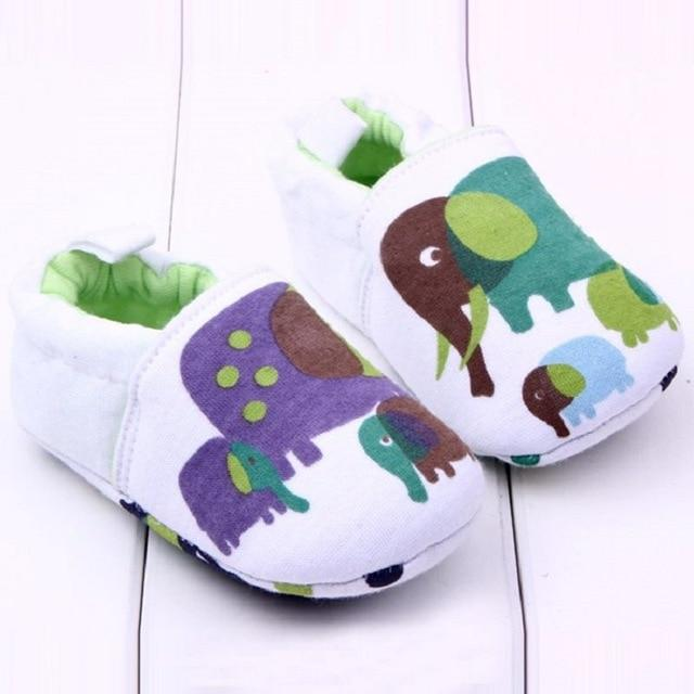 Cute Baby Shoes - Elephants - Maraya's Marketplace