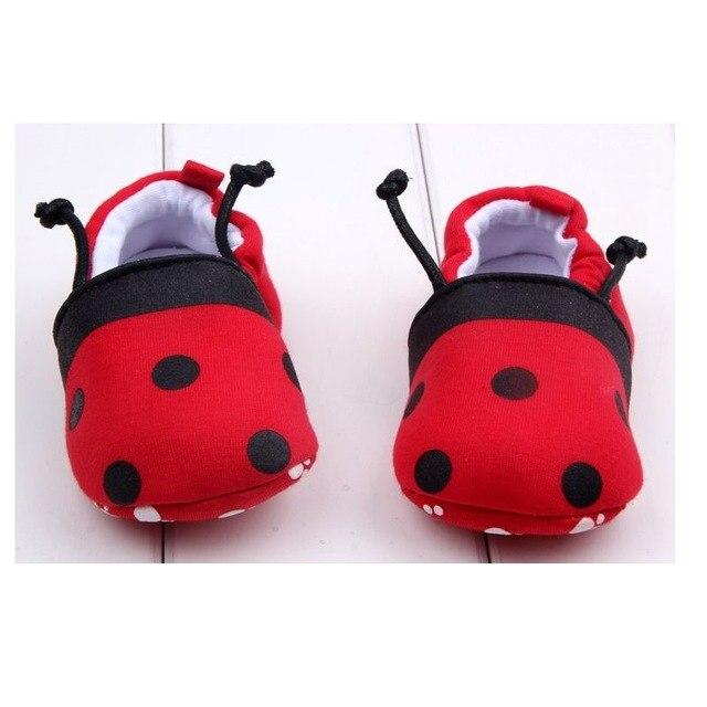 Cute Baby Shoes - Ladybug - Maraya's Marketplace