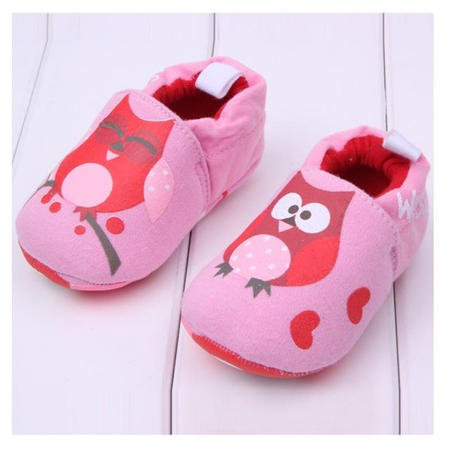 Cute Baby Shoes - Love Owl - Maraya's Marketplace
