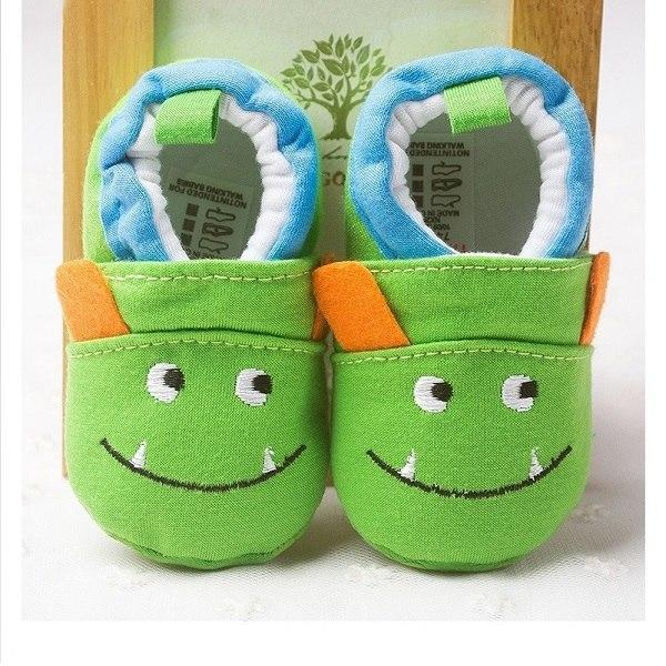 Cute Baby Shoes - Monster - Maraya's Marketplace