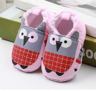 Cute Baby Shoes - Owl - Maraya's Marketplace