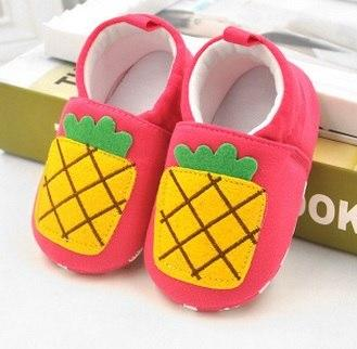 Cute Baby Shoes - Pineapple - Maraya's Marketplace
