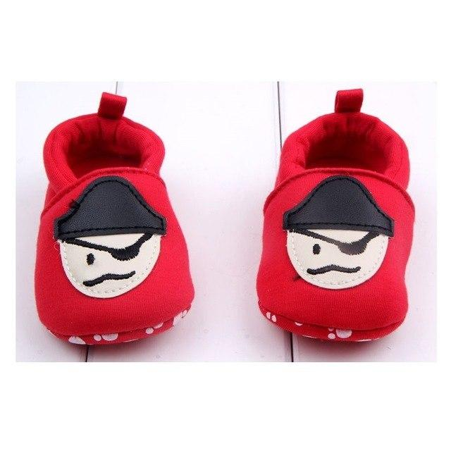 Cute Baby Shoes - Pirate - Maraya's Marketplace