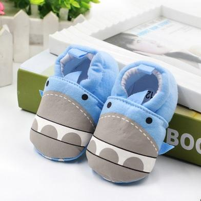 Cute Baby Shoes - Shark - Maraya's Marketplace