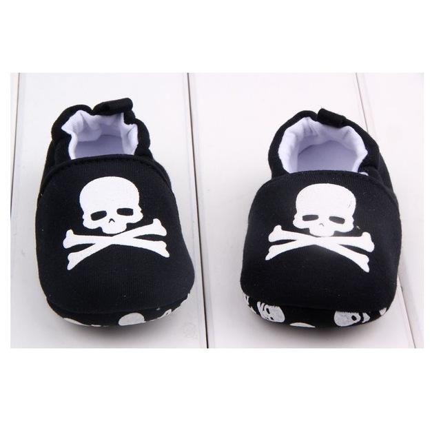 Cute Baby Shoes - Skull and Bones - Maraya's Marketplace