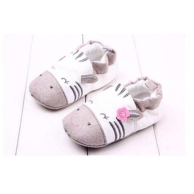 Cute Baby Shoes - Zebra - Maraya's Marketplace