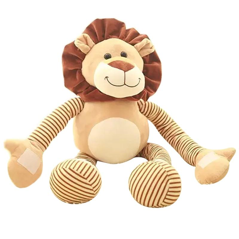 Lion Stuffed Toy w/ Stretchable Hands and Feet - Maraya's Marketplace