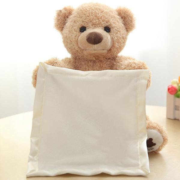 Peek A Boo Teddy Bear Play Toy - Maraya's Marketplace