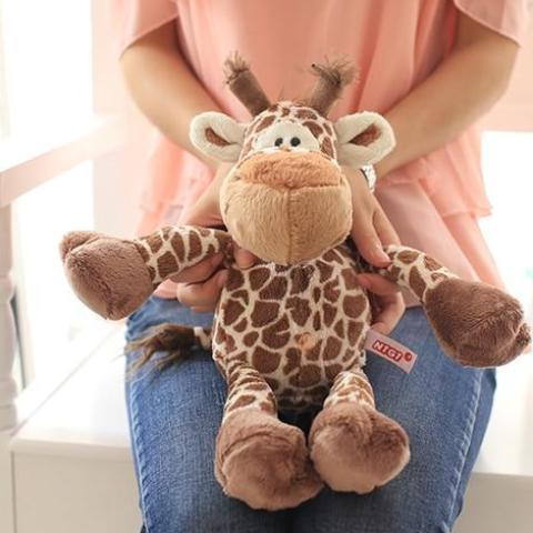 Small Cute Giraffe Plush Toy - Maraya's Marketplace
