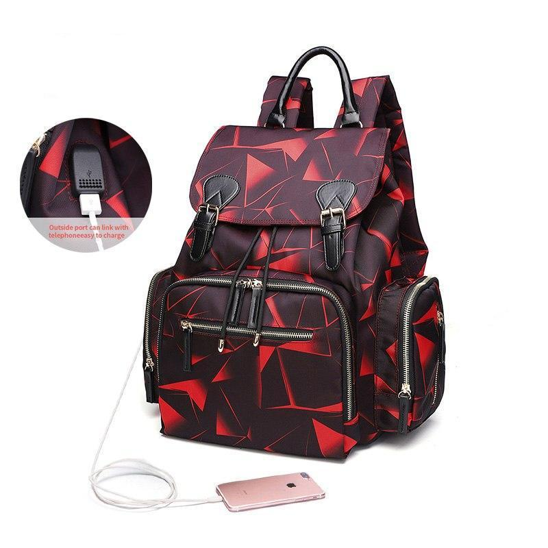 Waterproof Diaper Nappy Bag Backpack with USB Port - Model 2019 - Maraya's Marketplace