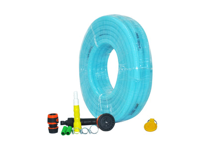 "Combo - 8 Pattern Sprinkler & Garud™ PREMIUM Heavy Duty Garden Hose Water Pipe (0.5"", 30M, 100 ft)"