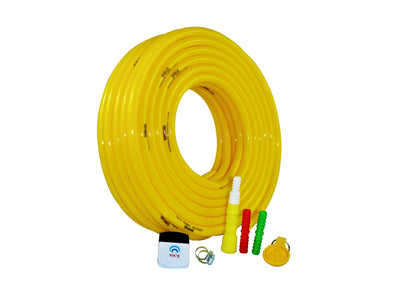 "GARUD Garden Hose Water Pipe 0.5"" 30 Meter 100ft Yellow"