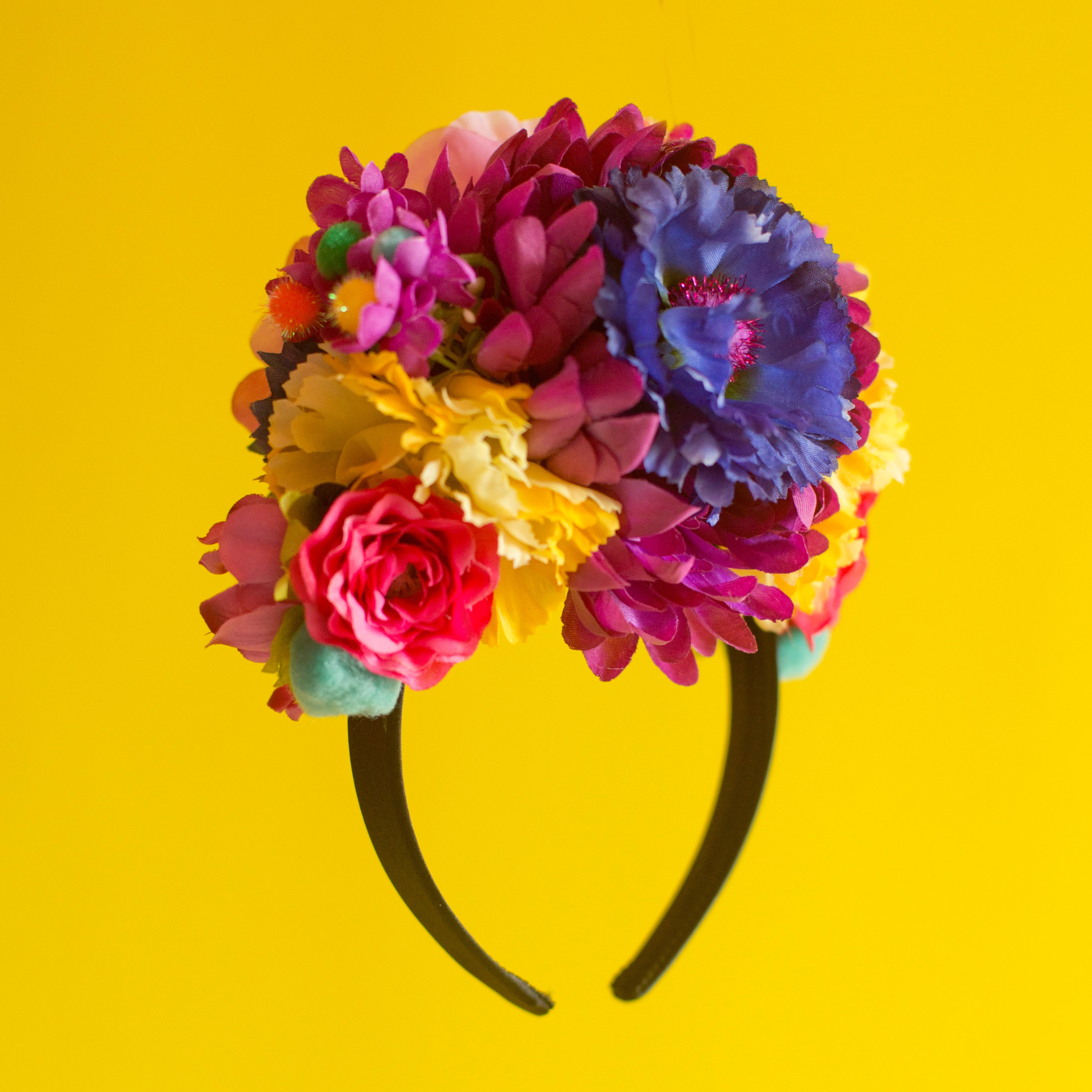Made to Order Bespoke Floral Headdress