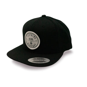 AEIOU CIRCLE Cap - Black
