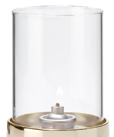 Clear Cylinder Glass Globe