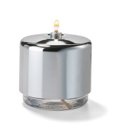Polished Chrome Mid-Size Gala Fuel Cell Cover