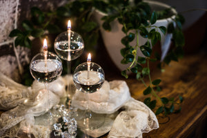 Sonata Stems Handcrafted Glass Candles