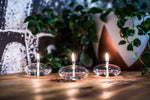 Omni Table Light  Handcrafted Glass Candle