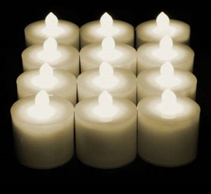 LED Candles - Candles Only x 12 Warm White