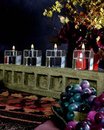Cube Handcrafted Glass Candles
