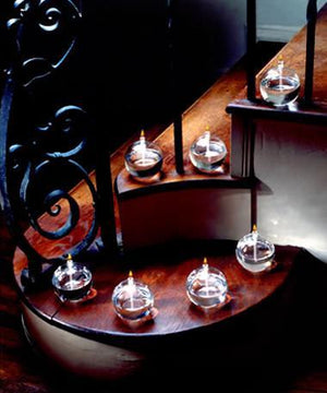 Sonata Table Light Handcrafted Glass Candles