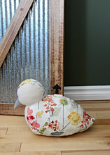Load image into Gallery viewer, This handmade duck doorstop from Paw in the Door's Country Farm Doorstop Collection provides a charming and practical addition to any home's decor