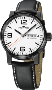 Fortis Spacematic Stealth White