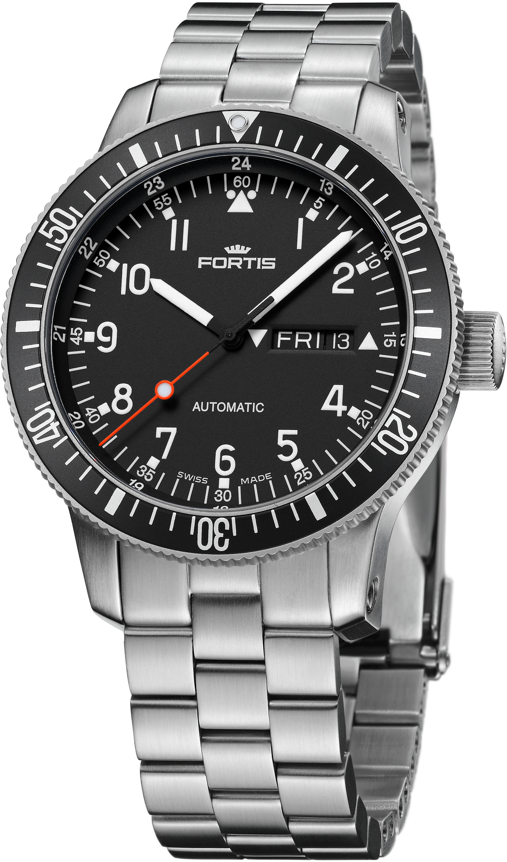 Fortis Official Cosmonaut Day-Date