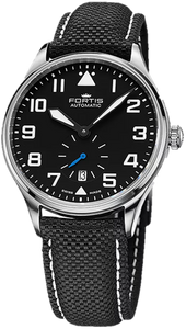 Fortis Pilot Classic Second