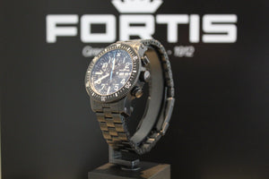 DIVER BLACK CHRONOGRAPH