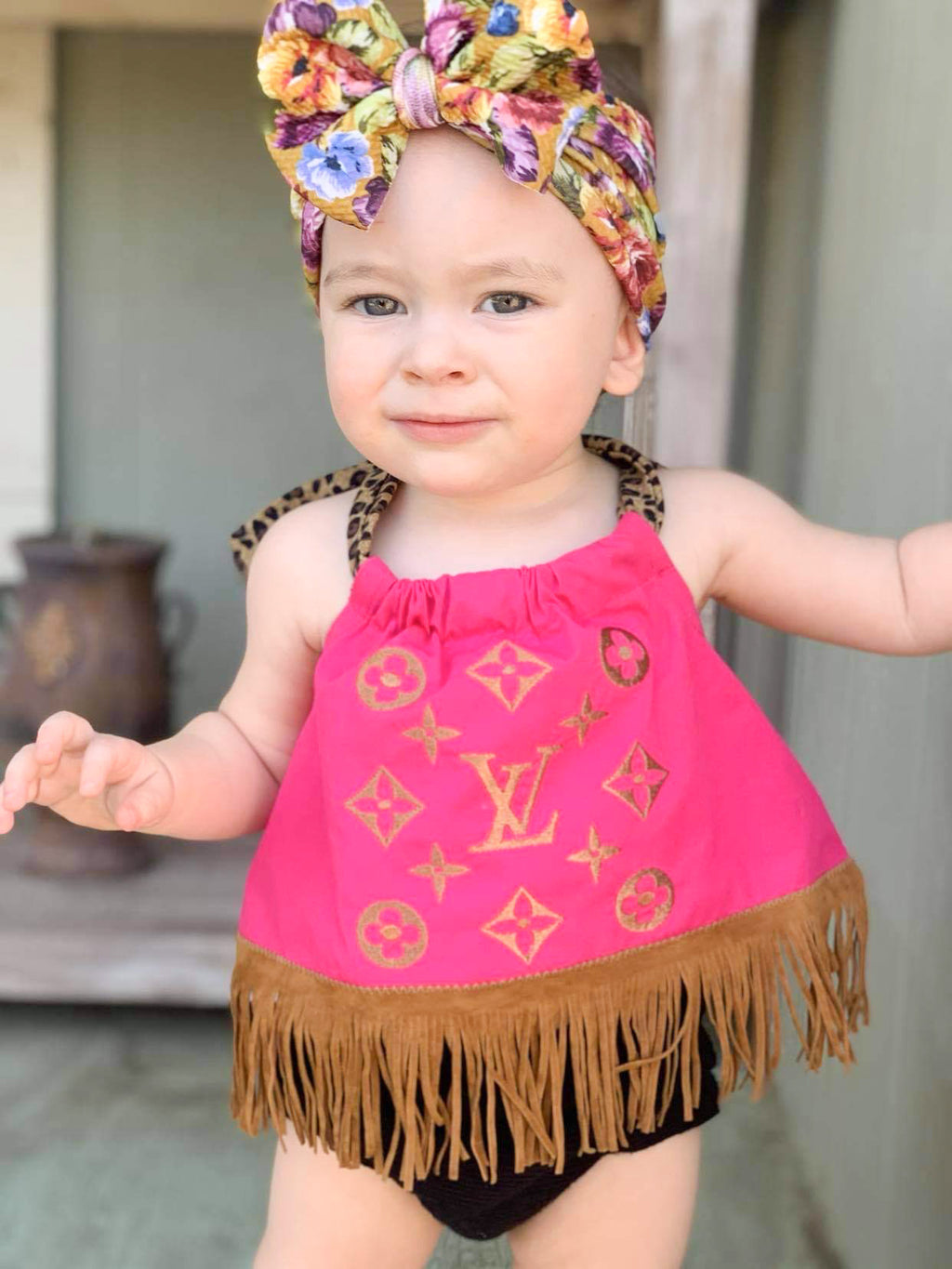 Baby/Toddler LV Halter Top