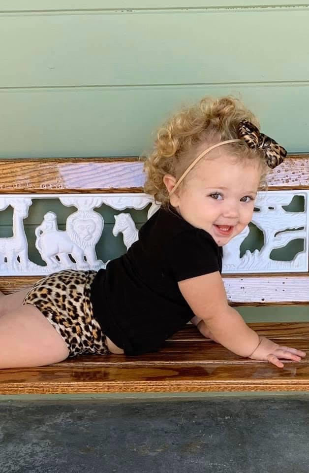 Leopard Toddler Bummies