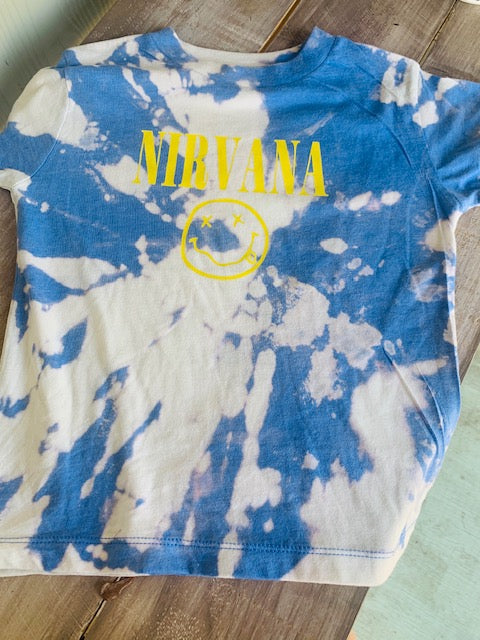 Toddler Bleached Nirvana Tee