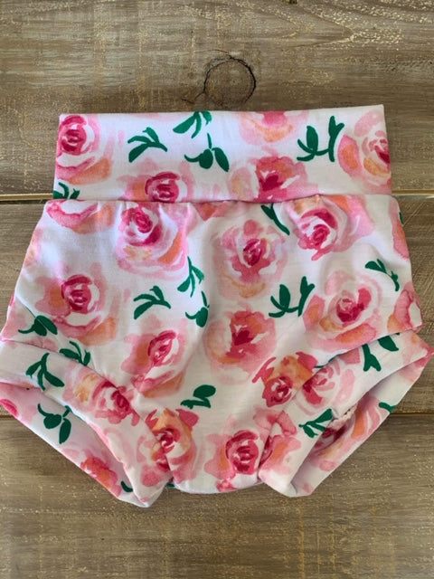 Baby/Toddler Spring Rose Bummies