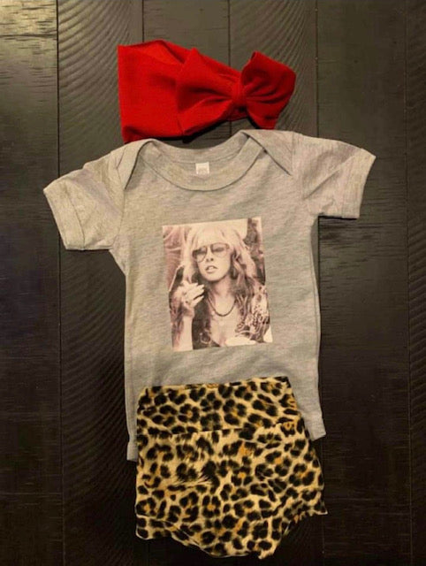 Stevie Nicks Baby Onesie
