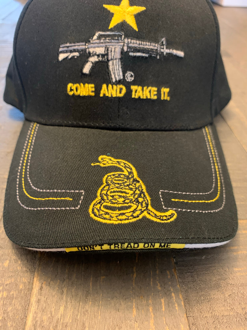 Second Amendment Come and Take It baseball cap