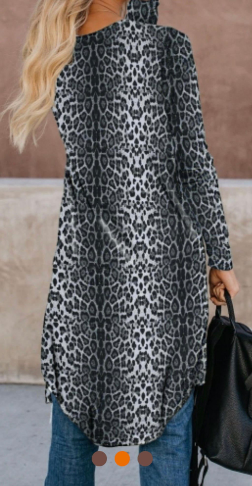 Animal Print Leopard Light Weight Cardigan