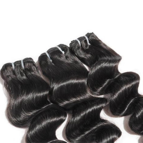 Cambodian Hair Wefts - Deep Wave